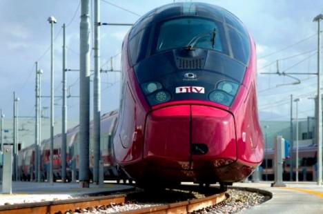 NTV high-speed train