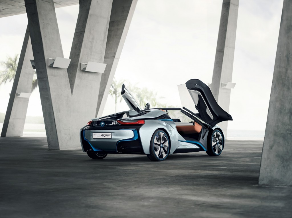 bmw i8 concept spyder photo