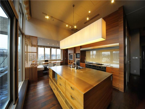 most expensive 1-bedroom apartment kitchen