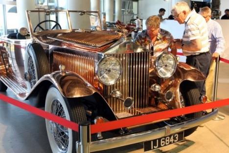 1930 Rolls Royce Phantom II roadster