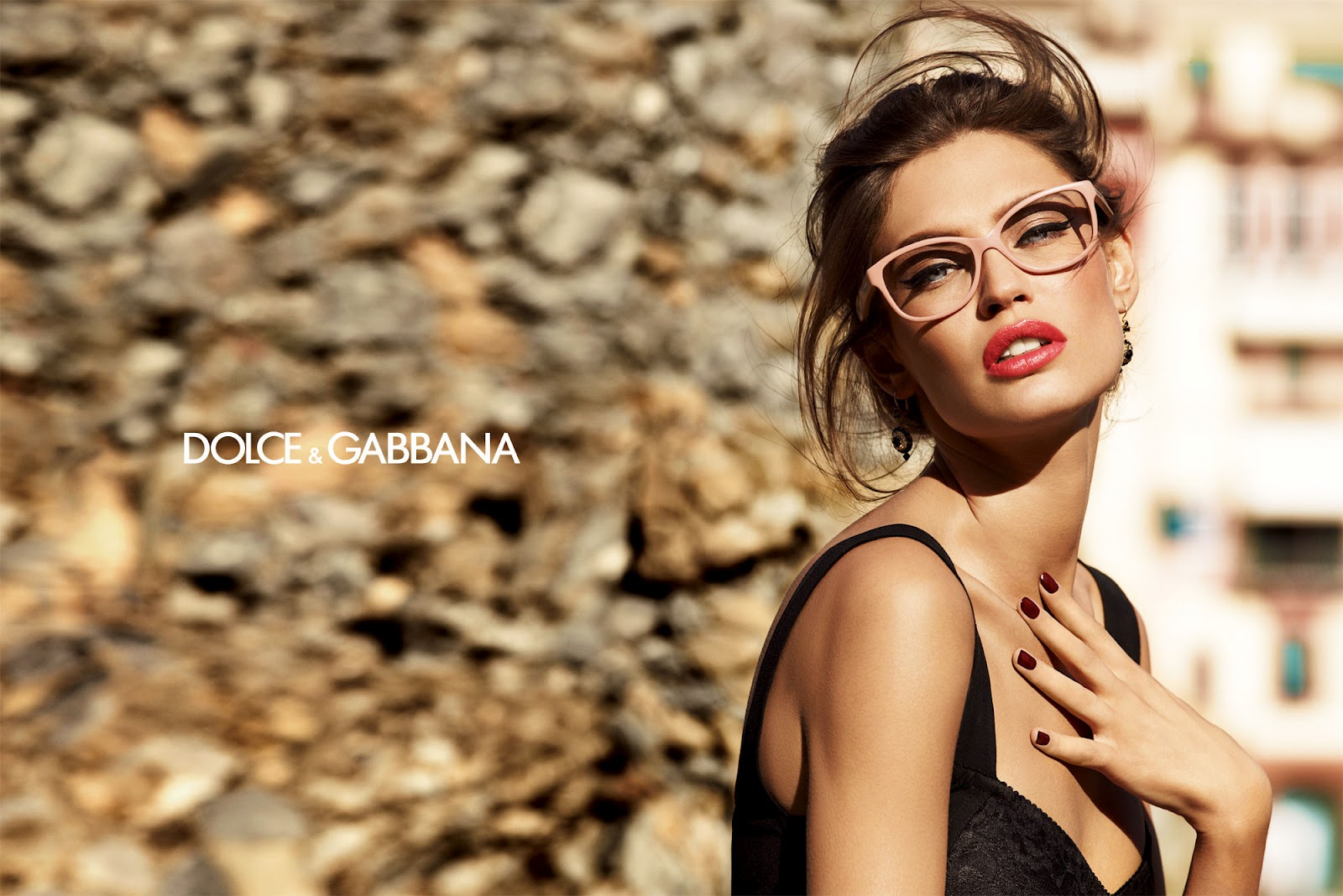 fbe52e6ceba1 Bianca Balti for Dolce   Gabbana Eyewear  Video