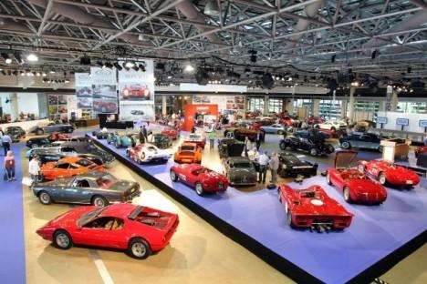 Grimaldi Forum vintage motor cars