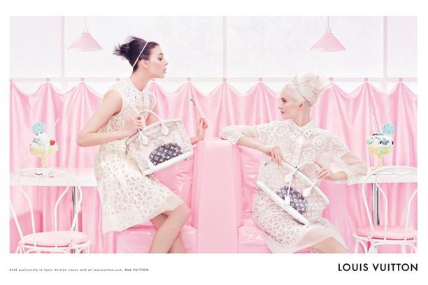 Louis Vuitton Spring Summer 2012 campaign