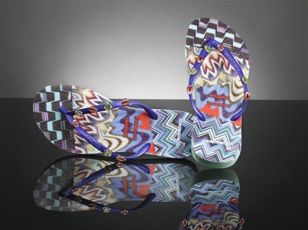 a94e49274381a Missoni designs sandals for Havaianas