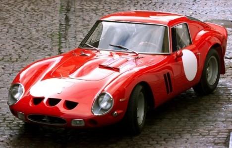 vintage 1963 Ferrari 250 GTO