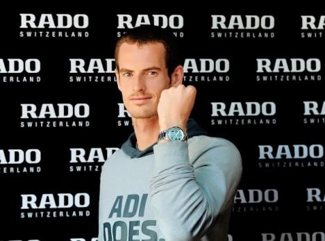 Andy Murrary for Rado
