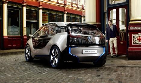 BMW i3 Concept London