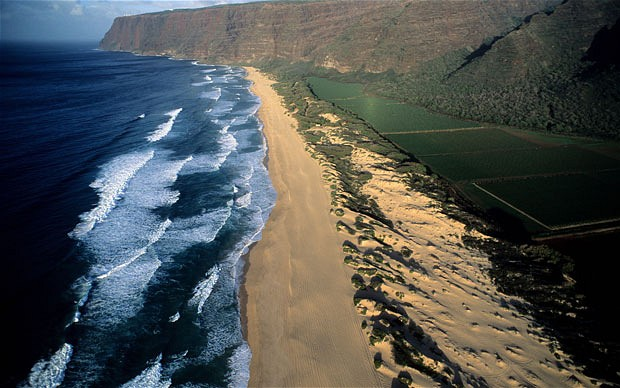 Barking Sands Beach Hawaii