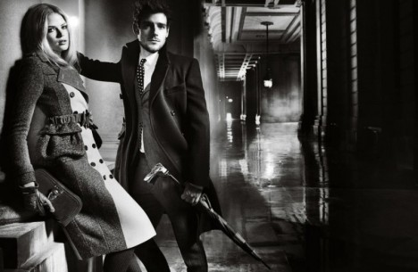 Burberry Fall Winter 2012 Campaign