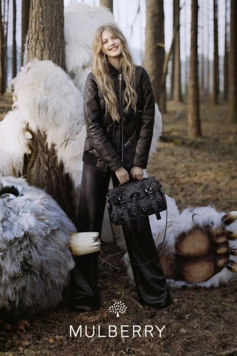 Mulberry FW 2012 Campaign Lindsey Winxson