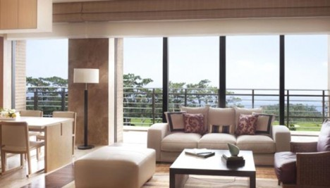 Ritz-Carlton Hotel Okinawa Living Room