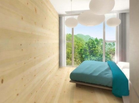 The Canopy Tower Hong kong bedroom