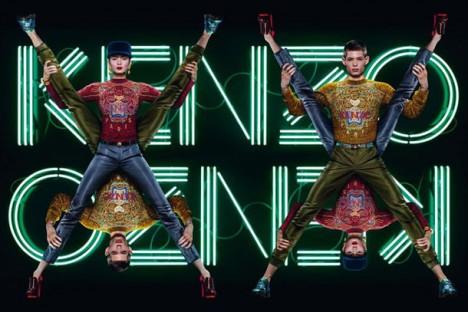kenzo Fall Winter 2012 campaign