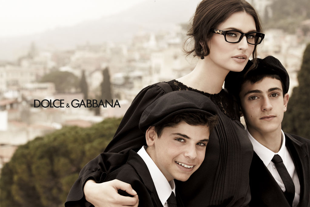 Dolce and Gabbana Eyewear Fall 2012 ad campaign