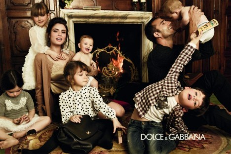Dolce and Gabbana babies ad campaign
