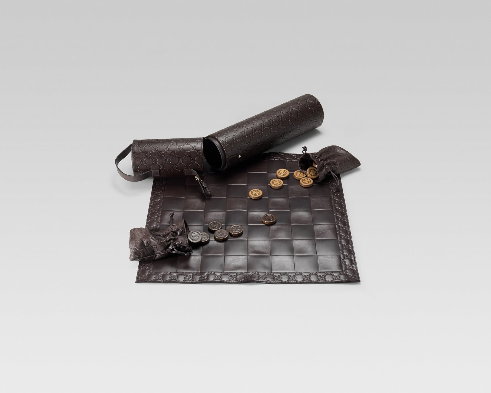 Gucci Leather Chess set