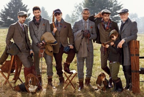 Tommy Hilfiger Fall 2012 ad Campaign