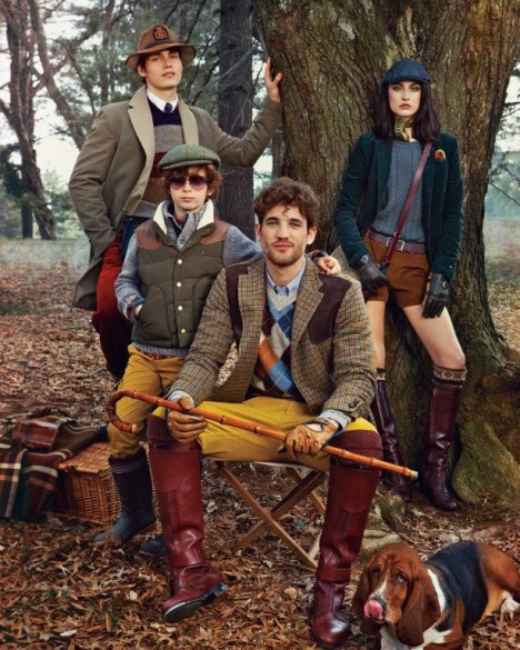 Tommy Hilfiger Fall Winter 2012 Campaign