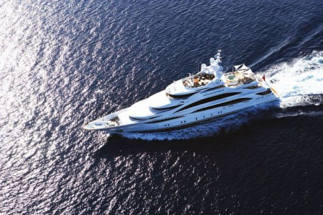benetti Diamonds Are Forever yacht