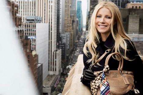 gwyneth paltrow coach handbag