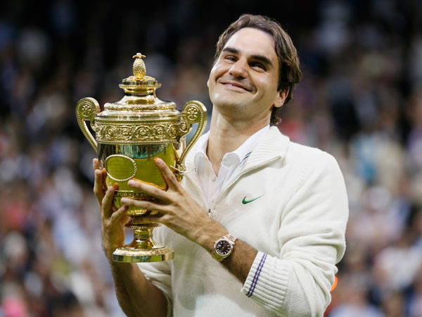 Roger Federer Gets 15m To Endorse Rolex Watches