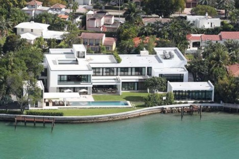 Alex Rodriguez's Miami Waterfront Home