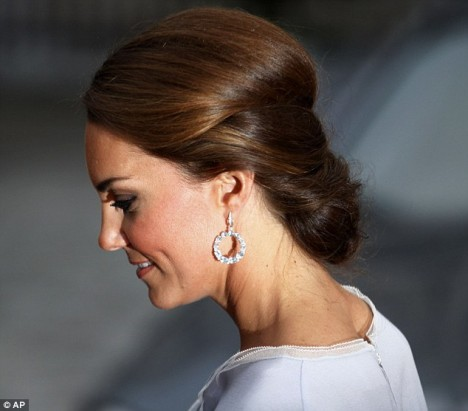 Duchess Kate Middleton Kiki McDonough earrings