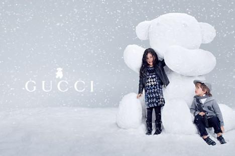 Gucci Fall  Winter 2012 Children ad campaign