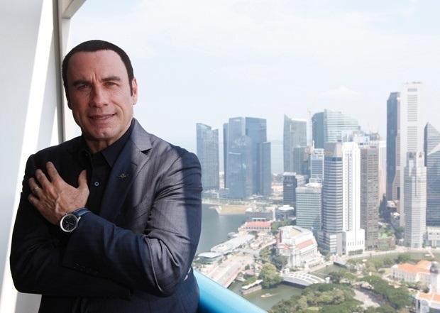 John Travolta for Breitling Navitimer Blue Sky