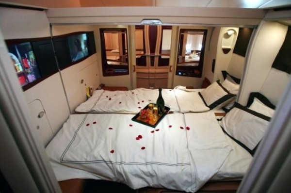 Luxurious Singapore Airlines Airbus A380
