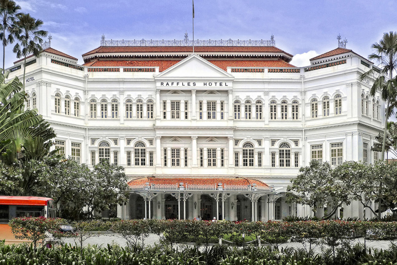 Raffles Hotel Honored By Jaeger Lecoultre