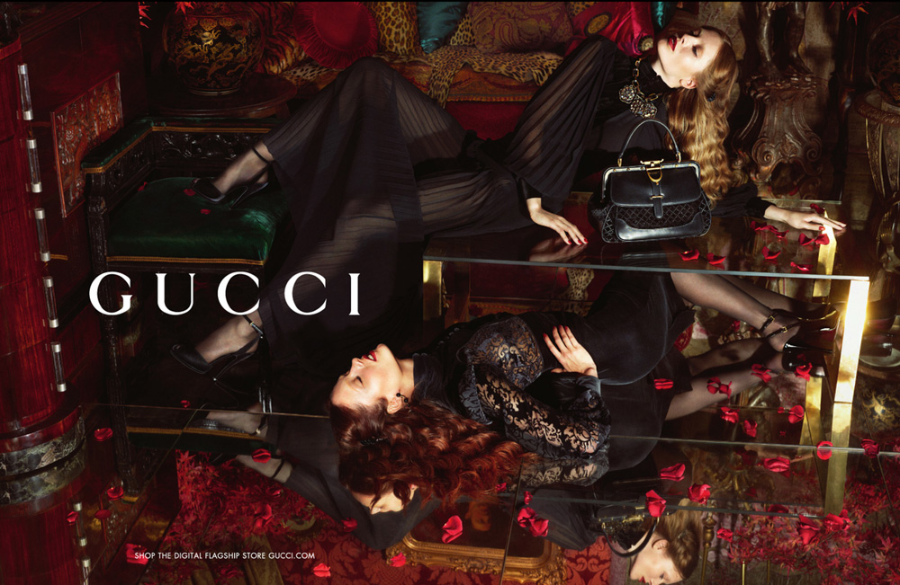 gucci fall 2012 ad campaign mert marcus