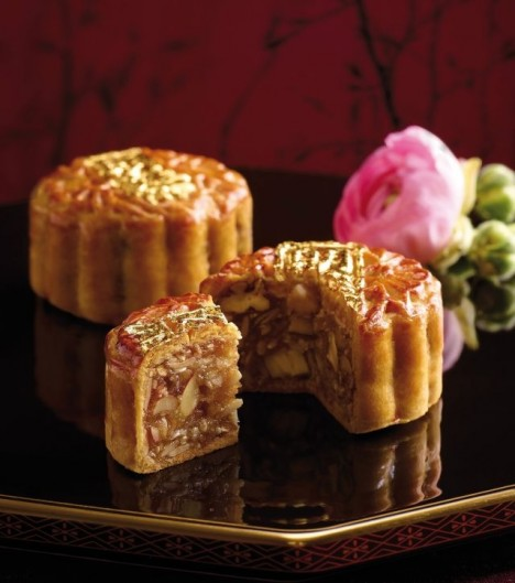 Black truffle and Parma ham mooncake Langham Place