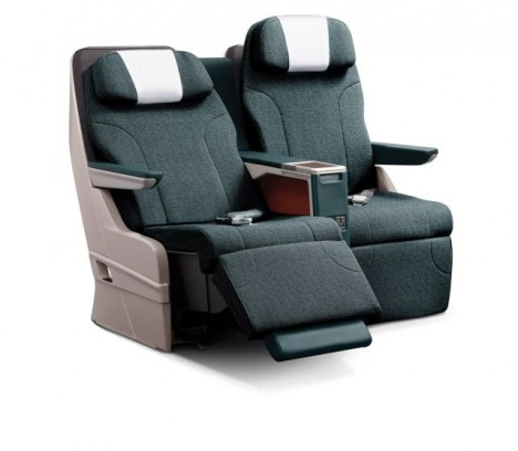 Cathay Pacific regional Business Class seat