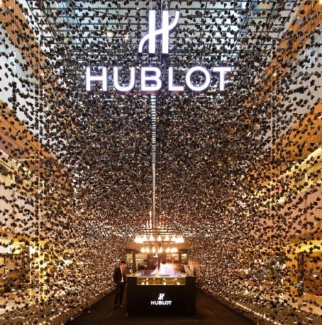 Hublot First Pop-Up Store Singapore