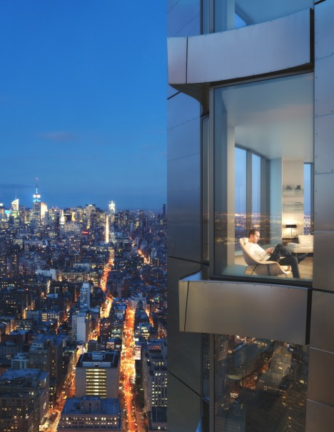 New York by Gehry Residential Tower