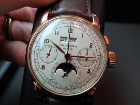 Patek Philippe Reference 2499 chronograph