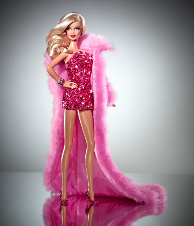 Pink Diamond Barbie Doll