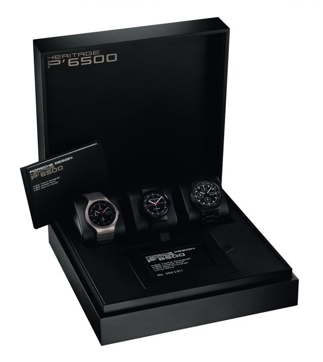 Porsche Design Heritage P6500 40th anniversary box set