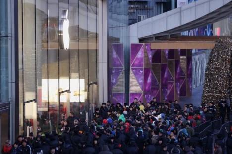 Apple Store Wangfujung Beijing opening