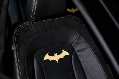 Batman Kia Optima SX interior