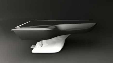 Futuristic Piano Pleyel Peugeot Design Lab