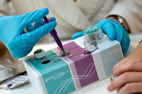 GeneOnyx in-store DNA testing kit