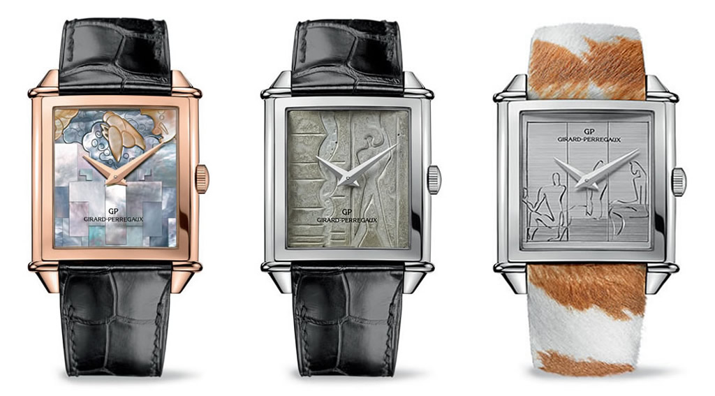 Girard-Perregaux Le Corbusier Watch Trilogy