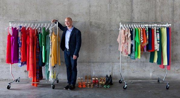 Jeff Bezos Amazon chief executive