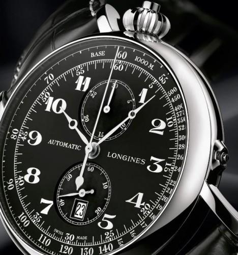 Longines Avigation Type A 7 Watch Closeup