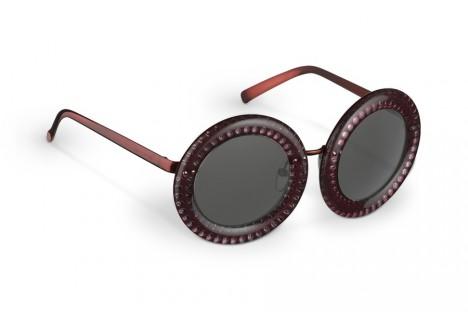 Louis Vuitton Nelly Strass Plum sunglasses