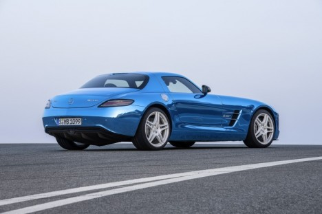 Mercedes SLS AMG Coupe Electric Drive photo