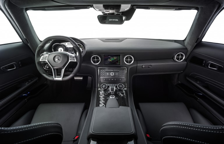 SLS AMG Coupe Electric Drive interior - LUXUO