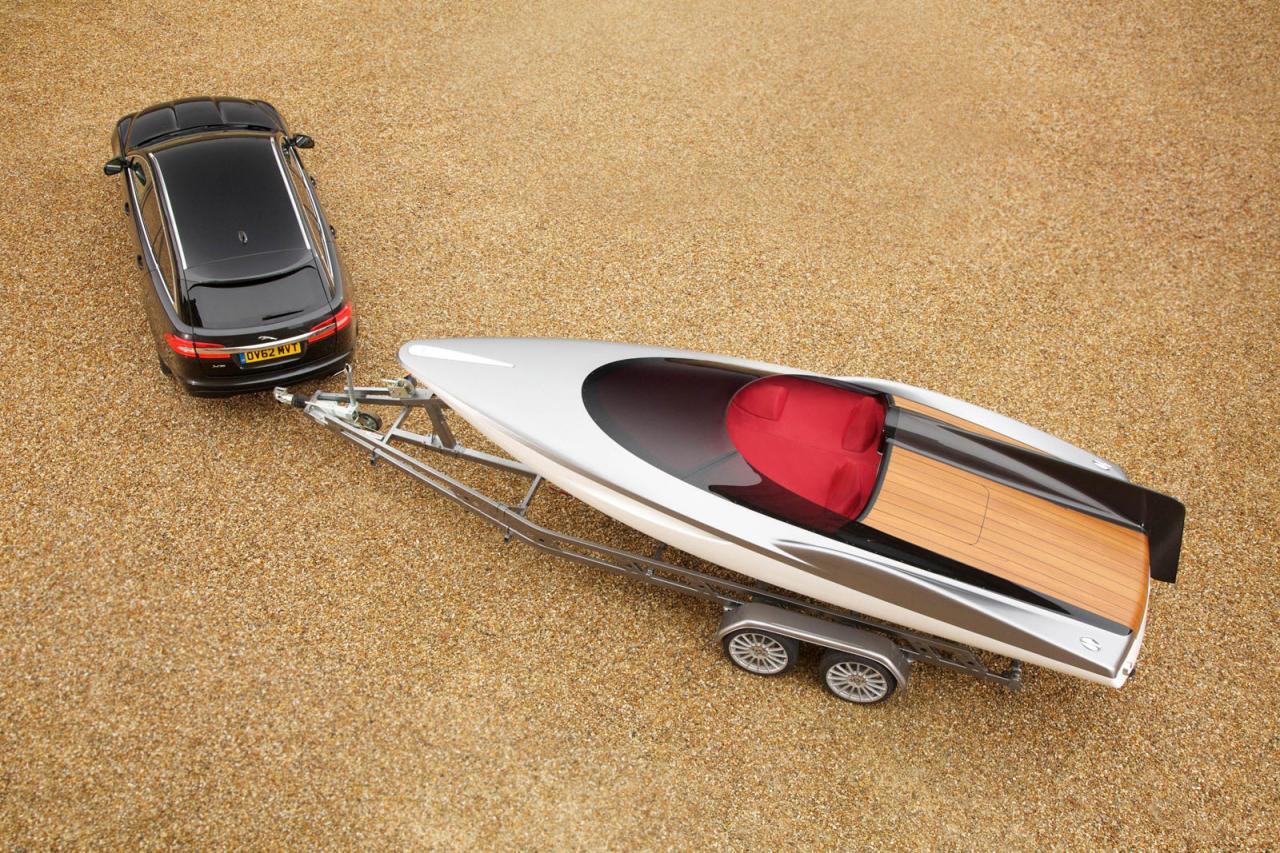Jaguar speed boat concept
